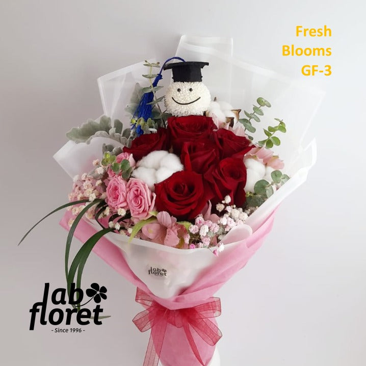 GF-3 Graduation Bouquet