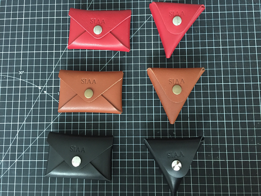 Full-grain Leather Mini Cardholder