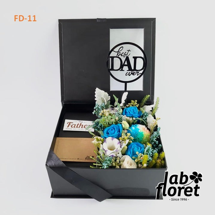 FD-11 Blue Rose Box