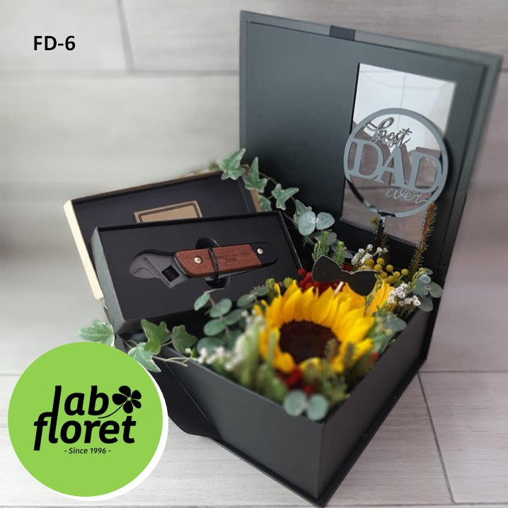 FD-6 Multi Tool Wrench in Flower Box
