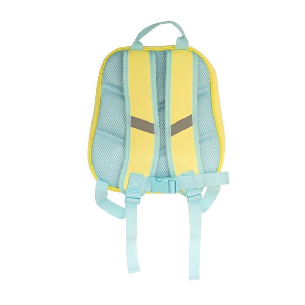 OFFICIAL LICENSED RIDAZ MARUMOFUBIYORI 3D KID'S BACKPACK, YELLLOW EVA EDITION