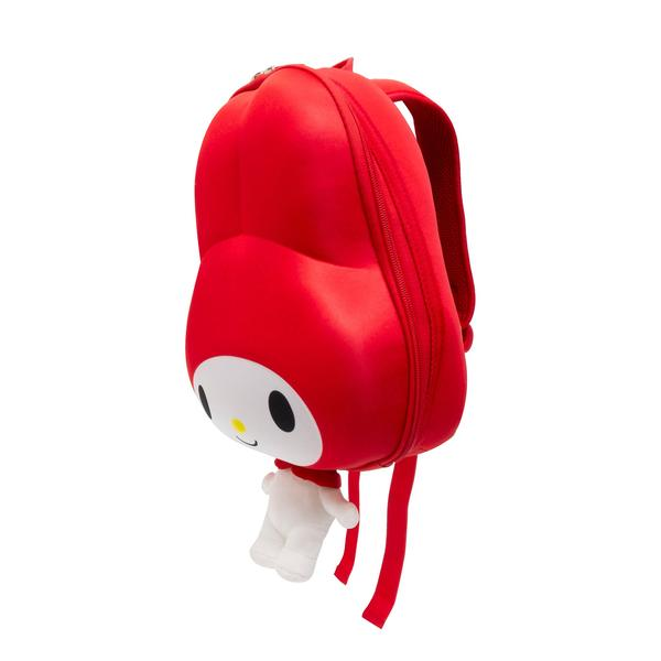 OFFICIAL LICENSED MY MELODY RIDAZ 3D KID'S BACKPACK, RED EVA EDITION