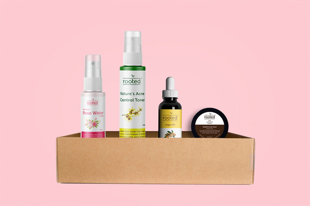 Acne Control Kit - Rooted Organics