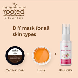 Moroccan Mud Mask (Rhassoul Clay) - Rooted Organics