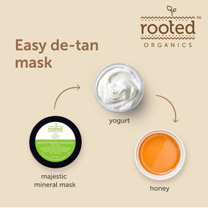 Majestic Mineral Facial Mask - Rooted Organics
