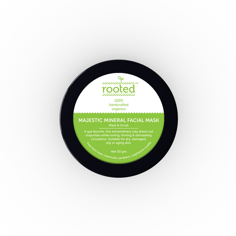 Majestic Mineral Facial Mask - Rooted Store