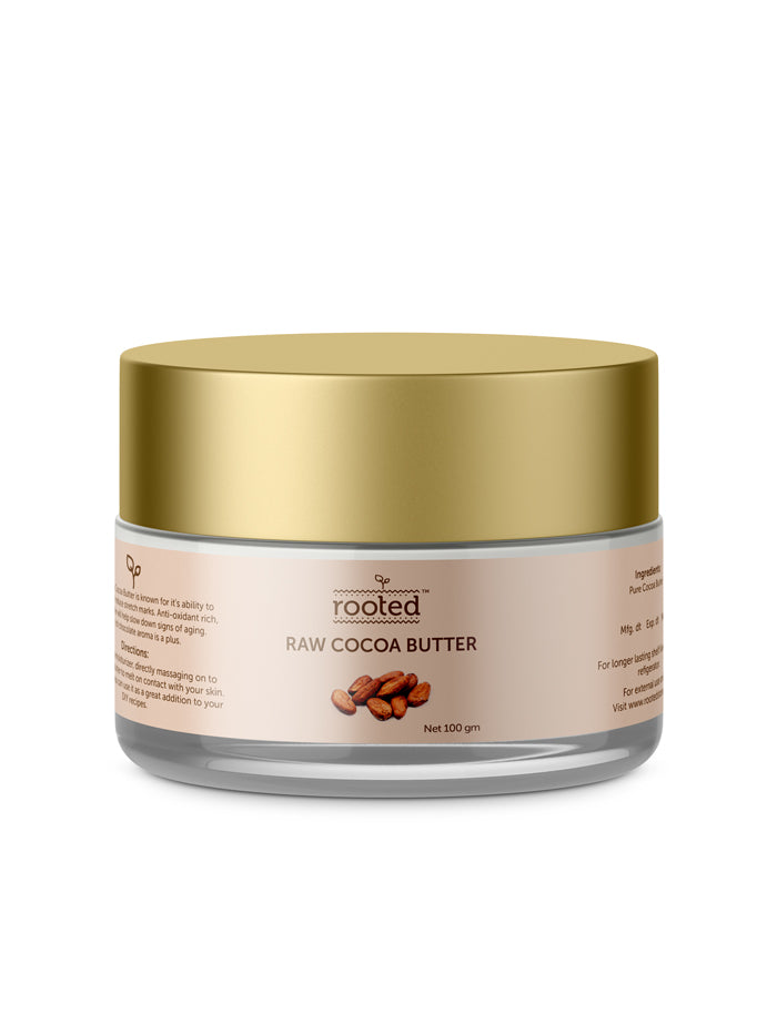 Raw Cocoa Butter - Rooted Store