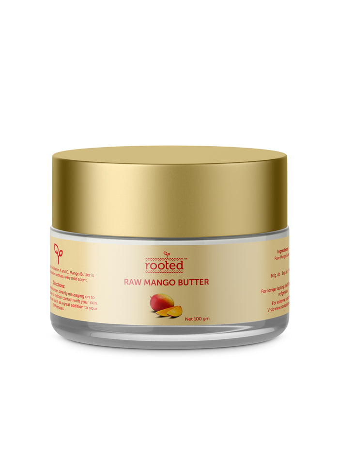 Raw Mango Butter - Rooted Organics