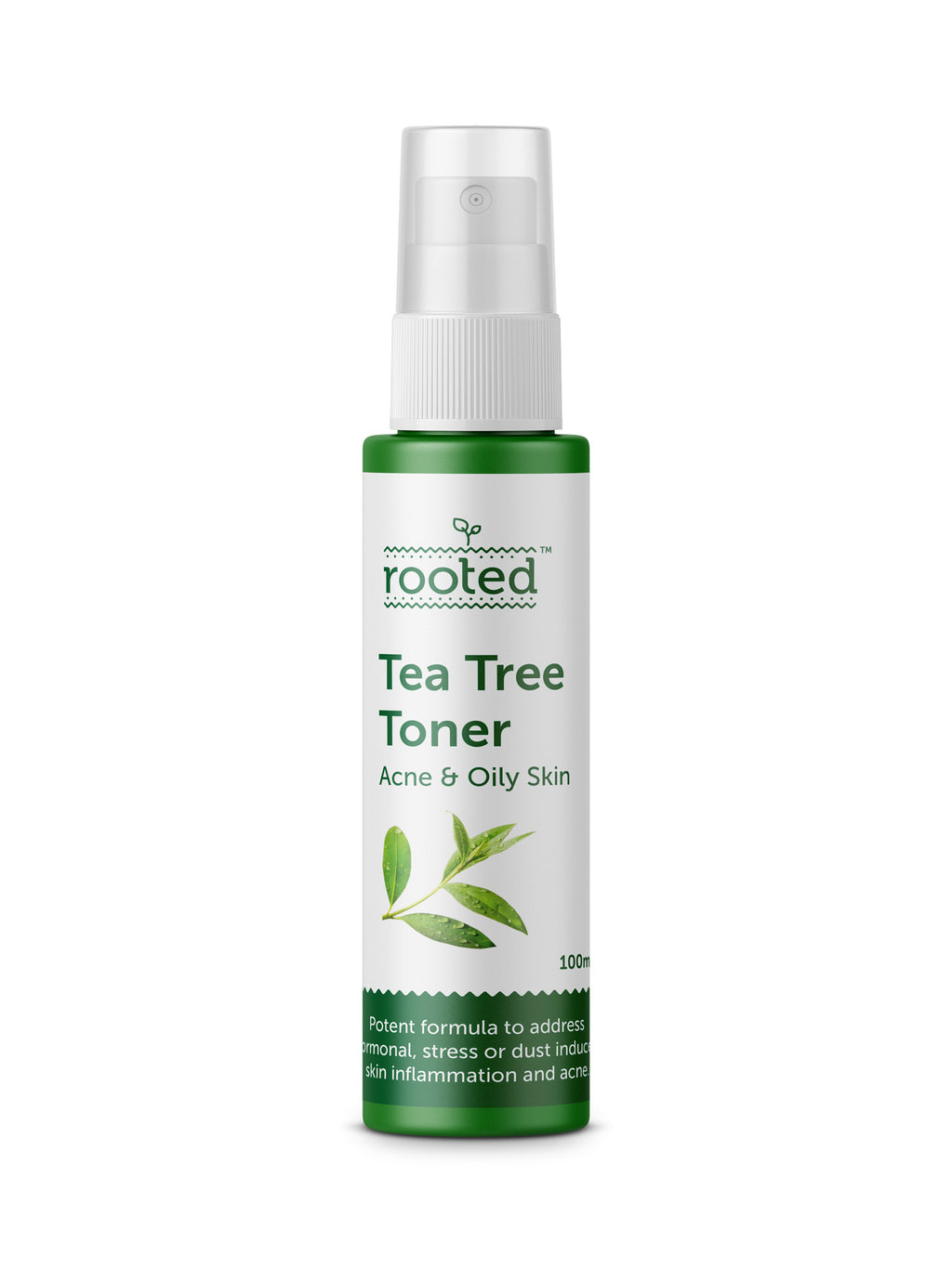 Tea Tree Toner - Banishing Acne & Oily Skin Everyday! - Rooted Organics
