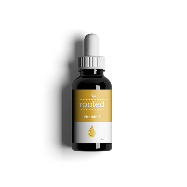 Pure Vitamin E oil - Rooted Organics