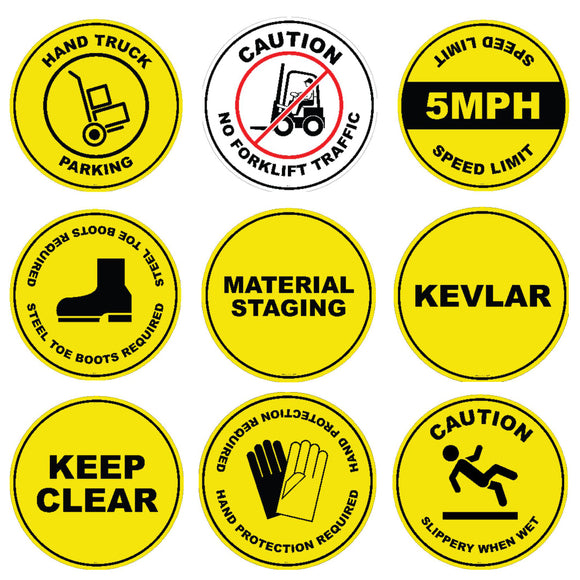 Industrial Floor Signs
