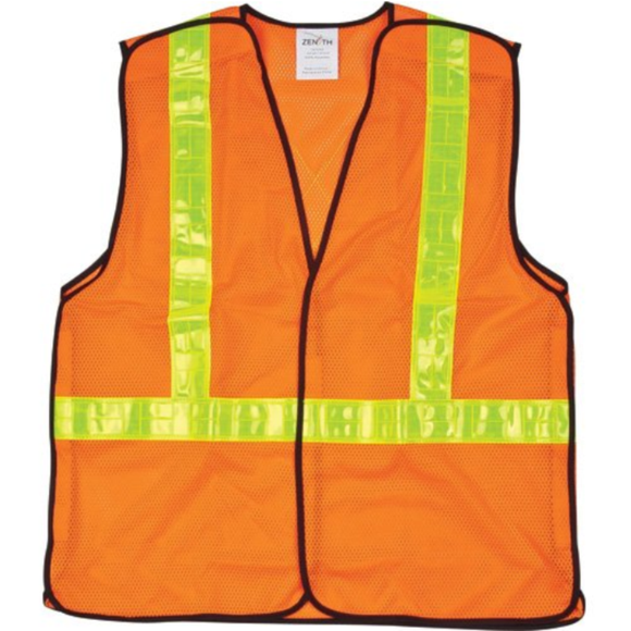 CSA Compliant 5-Point Tear-Away Traffic Safety Vest