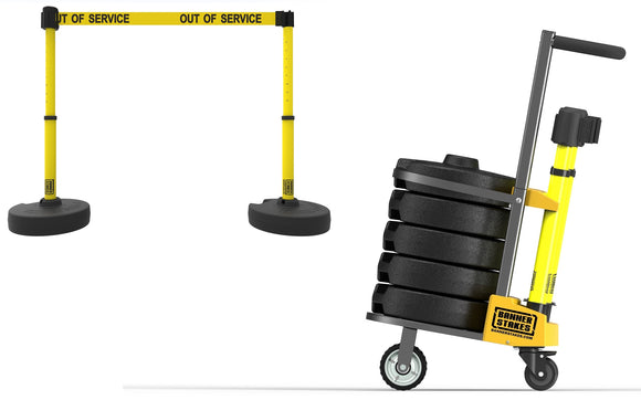 PLUS Cart Package - Yellow Banner