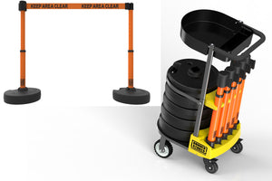 PLUS Cart Package with Tray - Orange Banner
