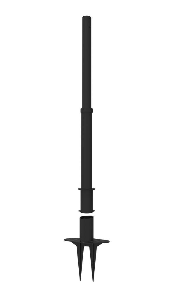 PLUS Black Plastic Stake