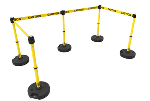 PLUS Barrier Set X5, Yellow