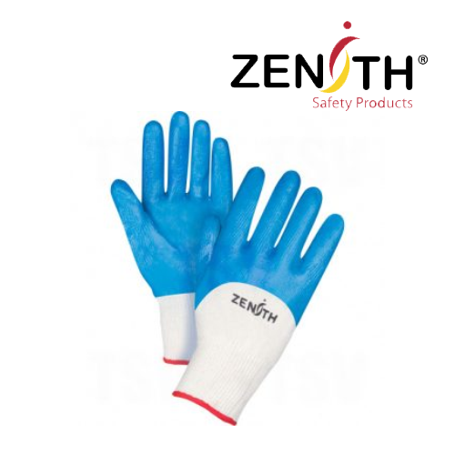 Mediumweight Nitrile Coated Gloves