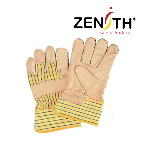 Superior Quality Lines Grain Cowhide Fitters Gloves