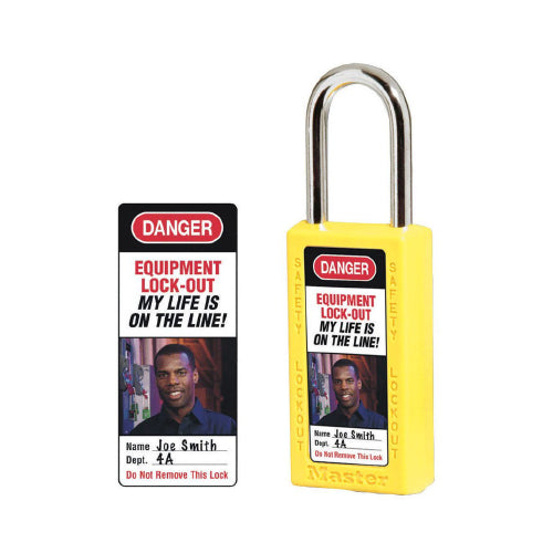 Padlock Identification Labels (411)