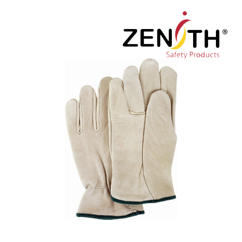 Grain Cowhide Drivers Gloves