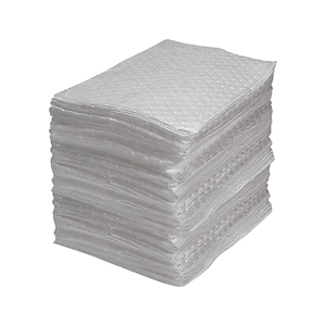 Fine Fibre Sorbent Oil Only Pads - Industrial Grade Medium