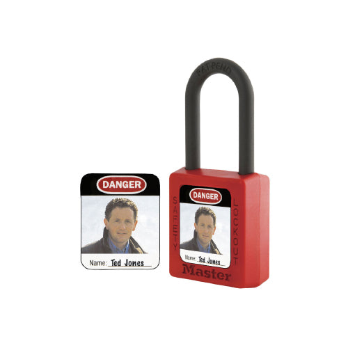 Padlock Identification Labels (410, S31, S33)