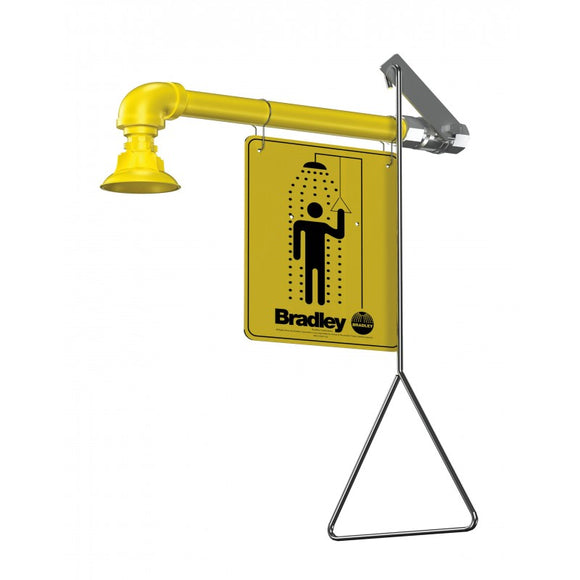 Vertical Supply Emergency Shower Stations