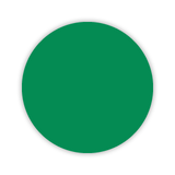 CYANVIS 5S/Lean marker. Green Small circle diameter