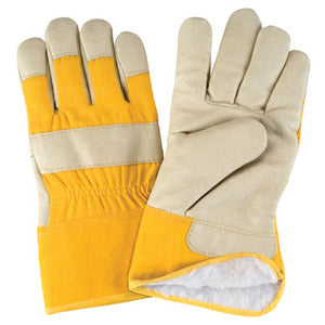 Grain Furniture Leather Fitters Acrylic Boa Lined Gloves