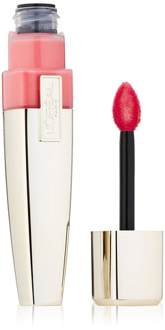 BATOM L'OREAL COLOUR CARESSE WET SHINE LIP STAINS, ROSE ON AND ON