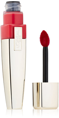 BATOM L'OREAL COLOUR CARESSE WET SHINE LIP STAINS, ENDLESS RED