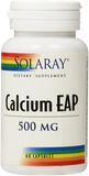 SOLARAY CALCIUM EAP 500MG (60 CÁPSULAS)