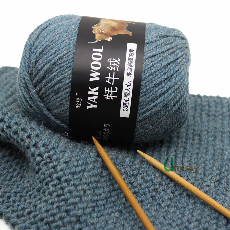 Warm Yak Wool & Cashmere Yarn