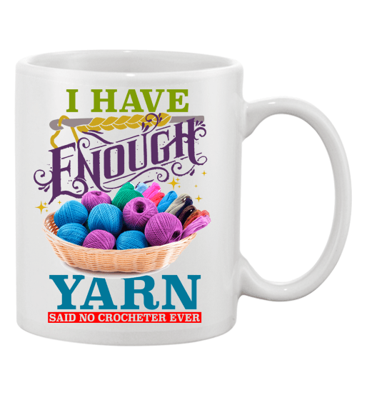 Crochet Enough Mug