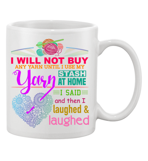Crochet Stash Mug