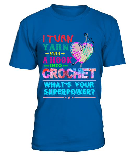 Crochet Superpower One Shirt