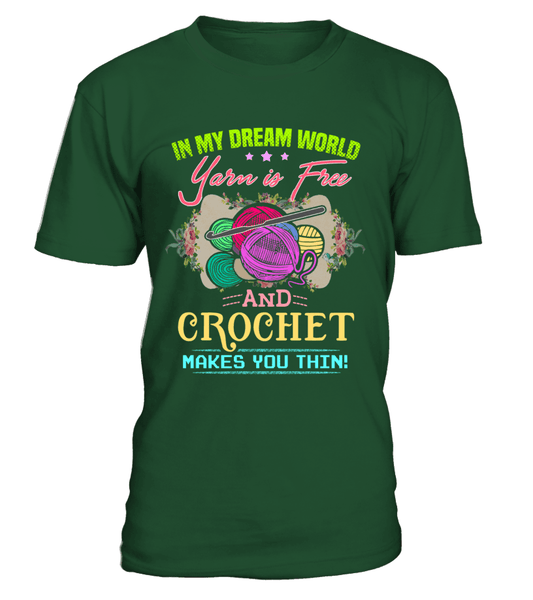 Crochet Dream World Shirt
