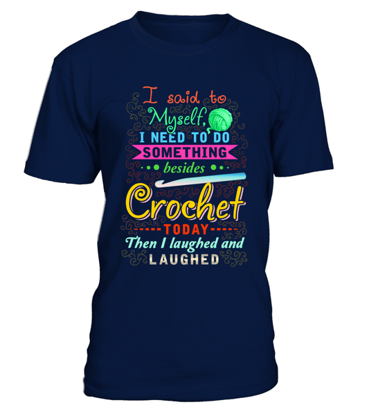 Crochet Laughed Shirt