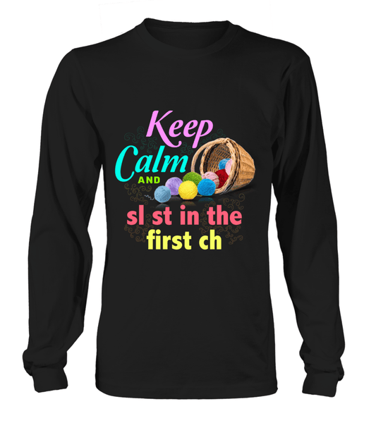 Crochet Keep Calm Shirt