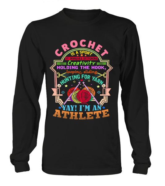Crochet Athlete Shirt