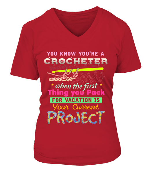 Crochet Vacation Shirt