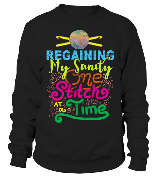Crochet Sanity Shirt Design