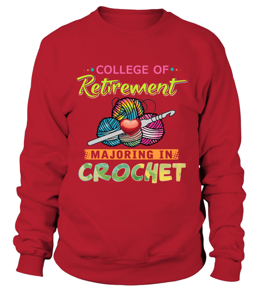 Crochet Major Shirt Design