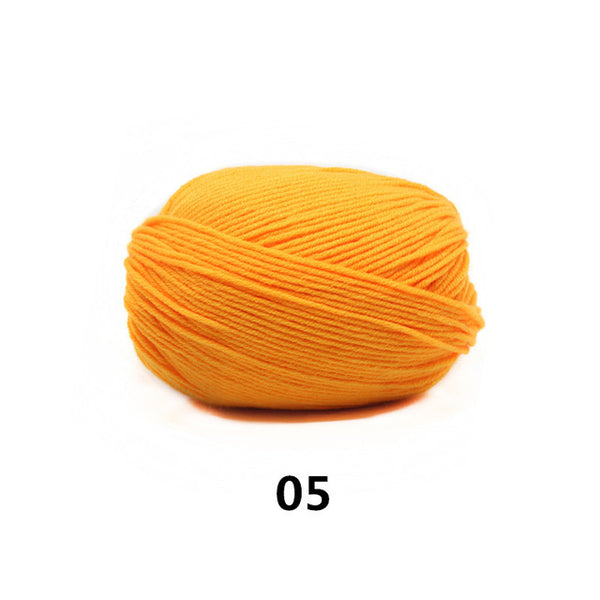 6pcs Wonderful Worsted Cotton Yarn