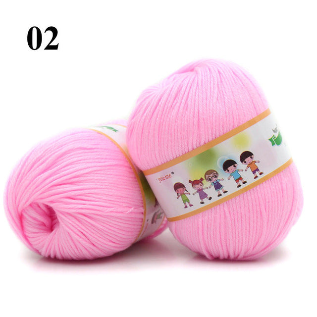 Cotton & Silk Soft Baby Yarn