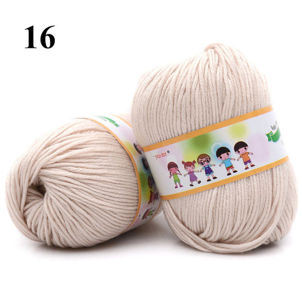 10-Pack Cotton & Silk Soft Baby Yarn (Save Extra 16%)