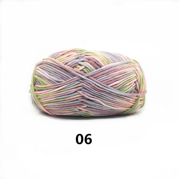 Colorful Cotton Blended Yarn