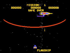 GORF 180's retro arcade space shooter