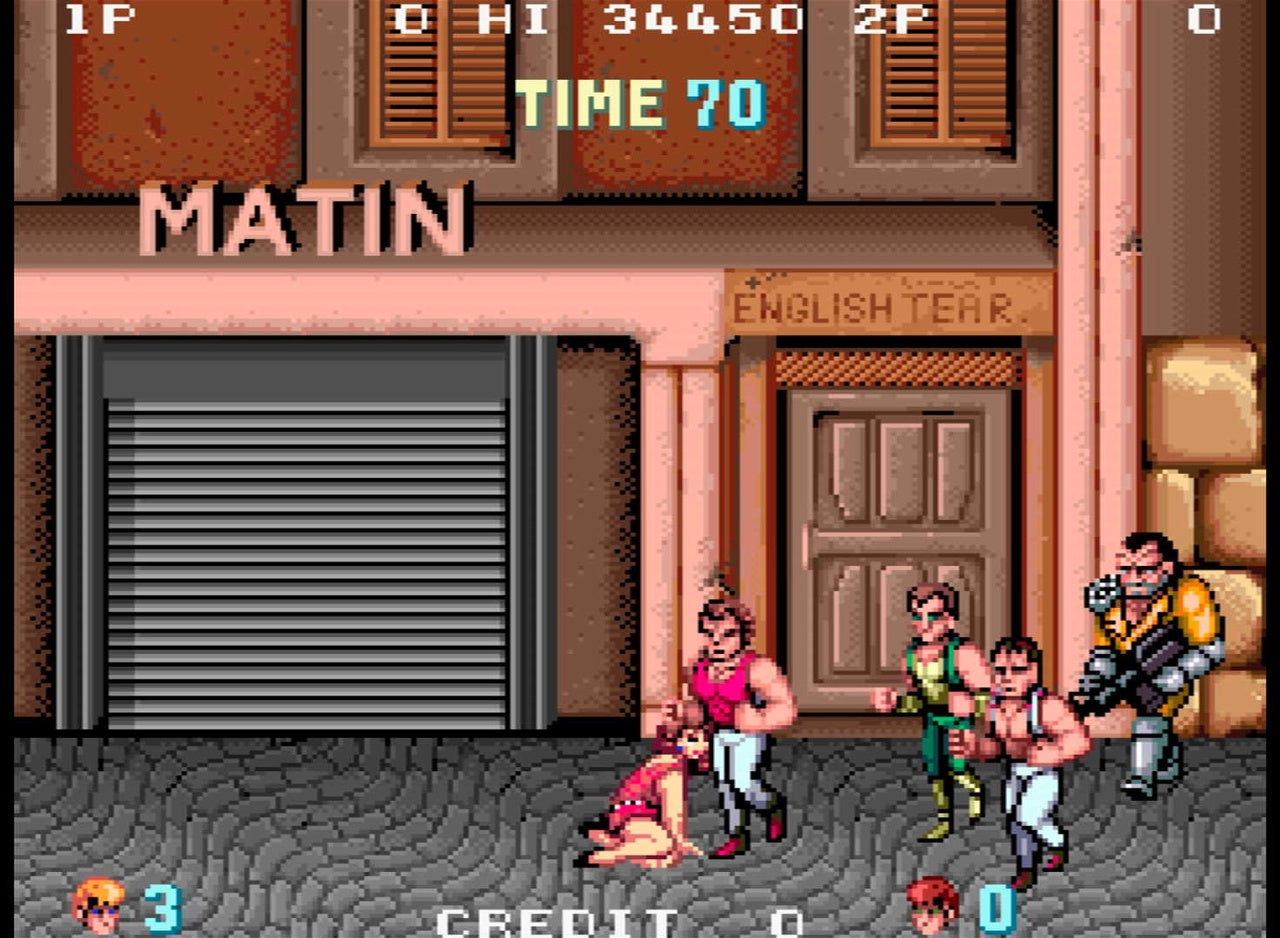 Double Dragon Classic 80's Arcade Game