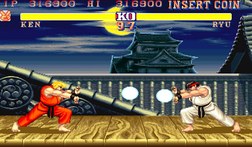 Street Fighter Famous Arcade beet em up
